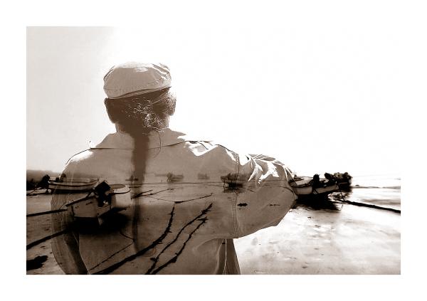 a portrait of a sailor