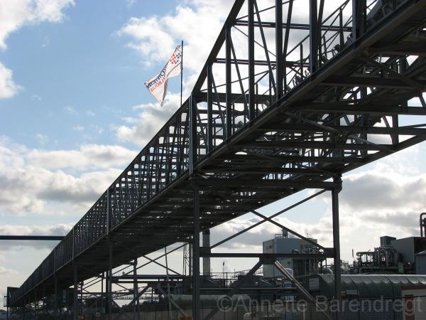 Bioethanol fabriek