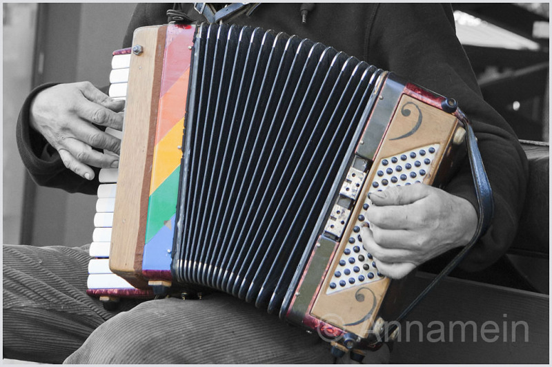 Kleurrijk- muziekaal - lucht