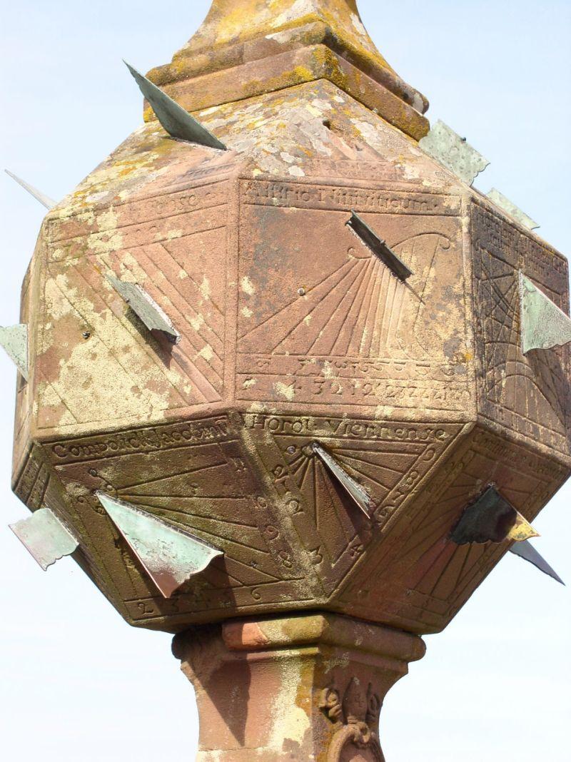 le cadran à 24 faces du Mont St Odile