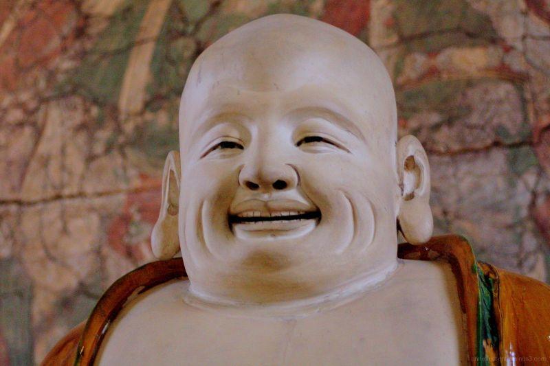 Bouddha hilare