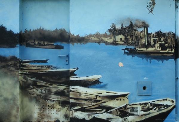 la Seine à Bois-le-Roi autrefois