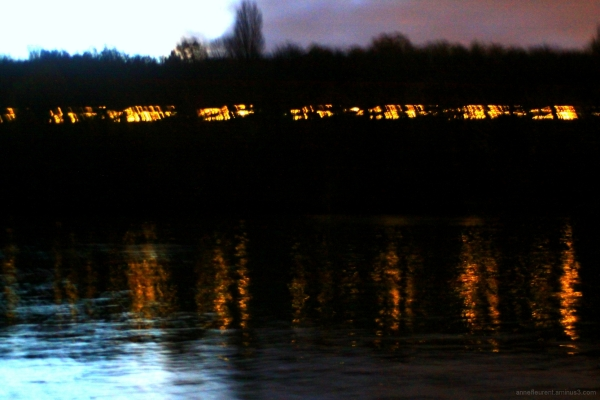 billebaude nocturne en bord de Seine I