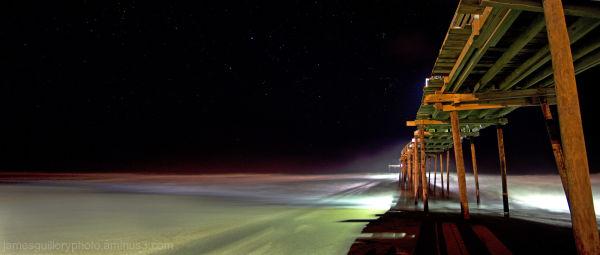 Avon Pier Night Sky