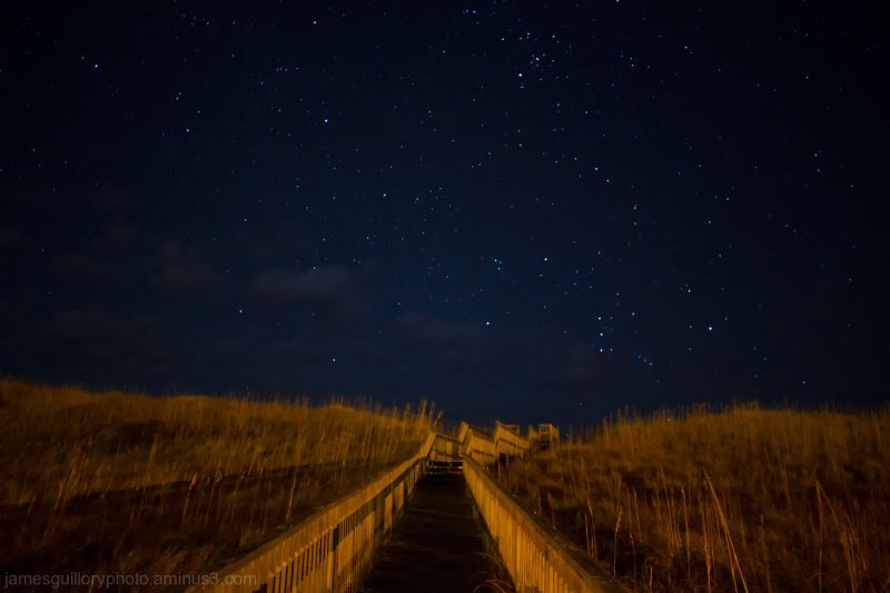 Outer Banks  stairway that leads you to the stars