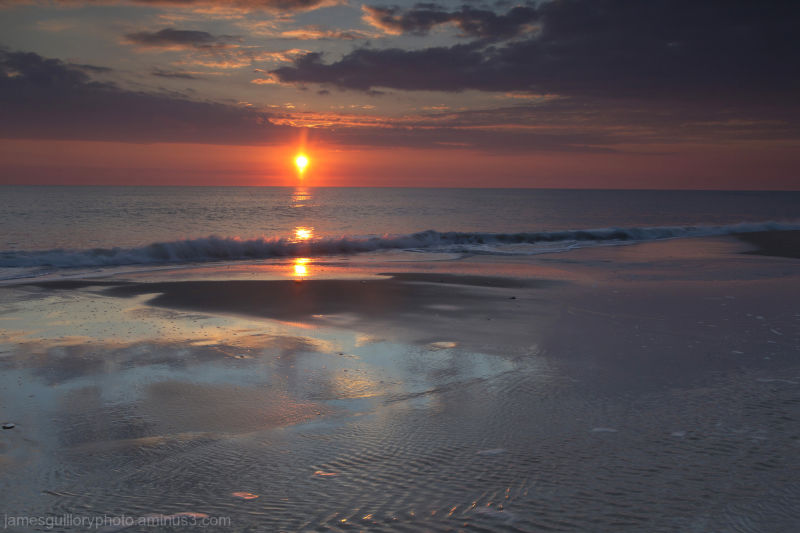 sunrise rodanthe, outer banks, north carolina usa