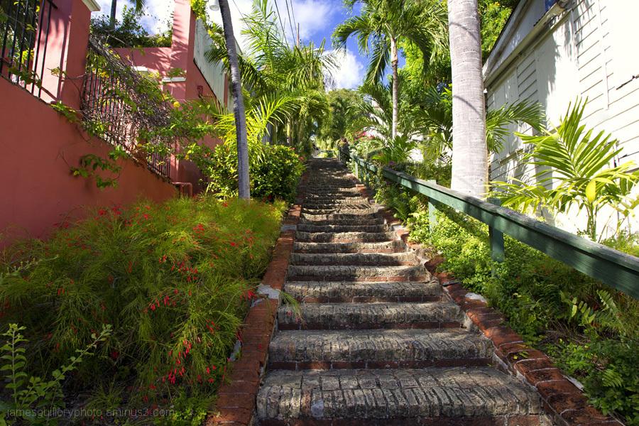 99 steps charlotte amalie, st. thomas