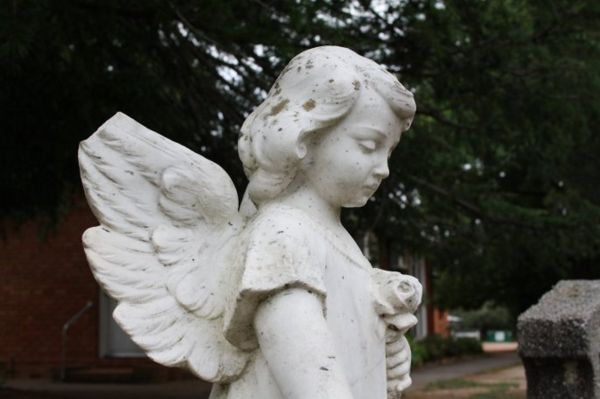 angel with broken wing
