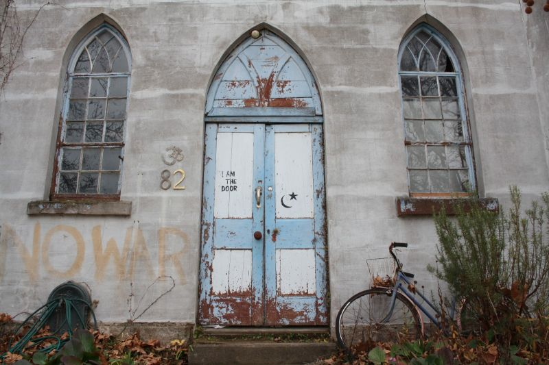 art school door