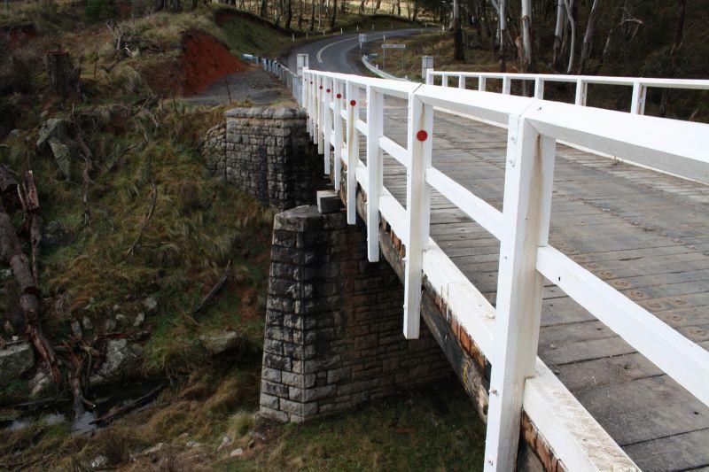 repaired old bridge