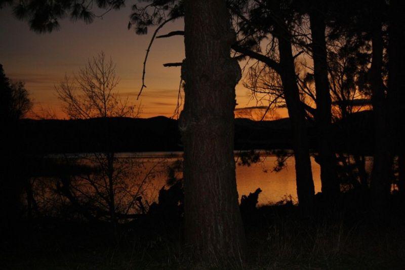 lake at sunset2