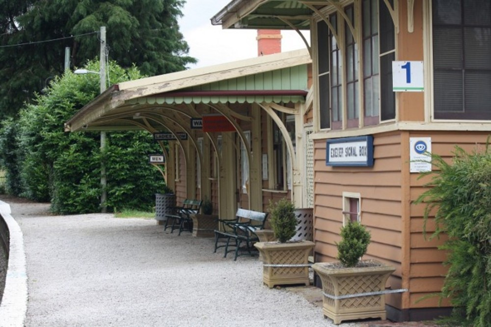 country railway station