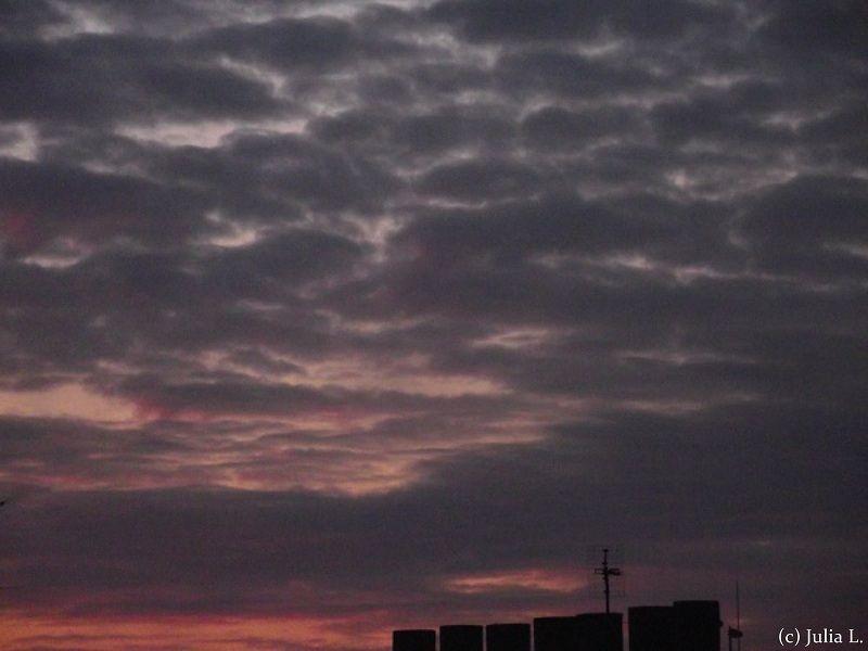 Cielo de Paris desde mi ventana 1/3