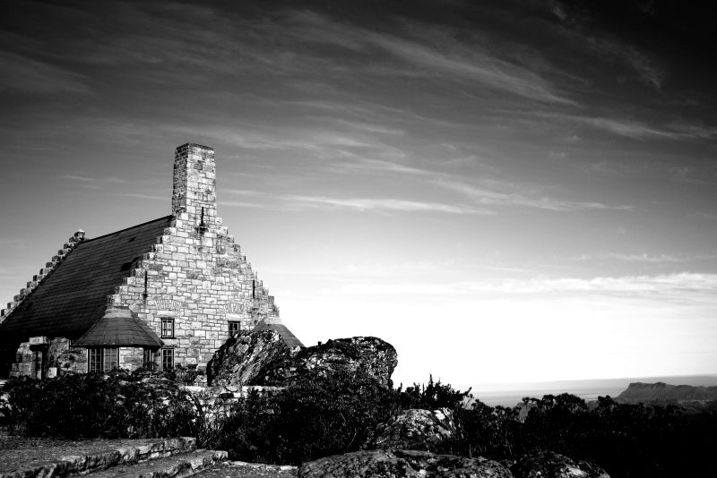 Old church on Table Mountain