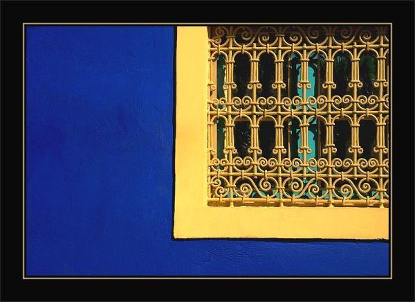 Fenêtre Jardin Majorelle