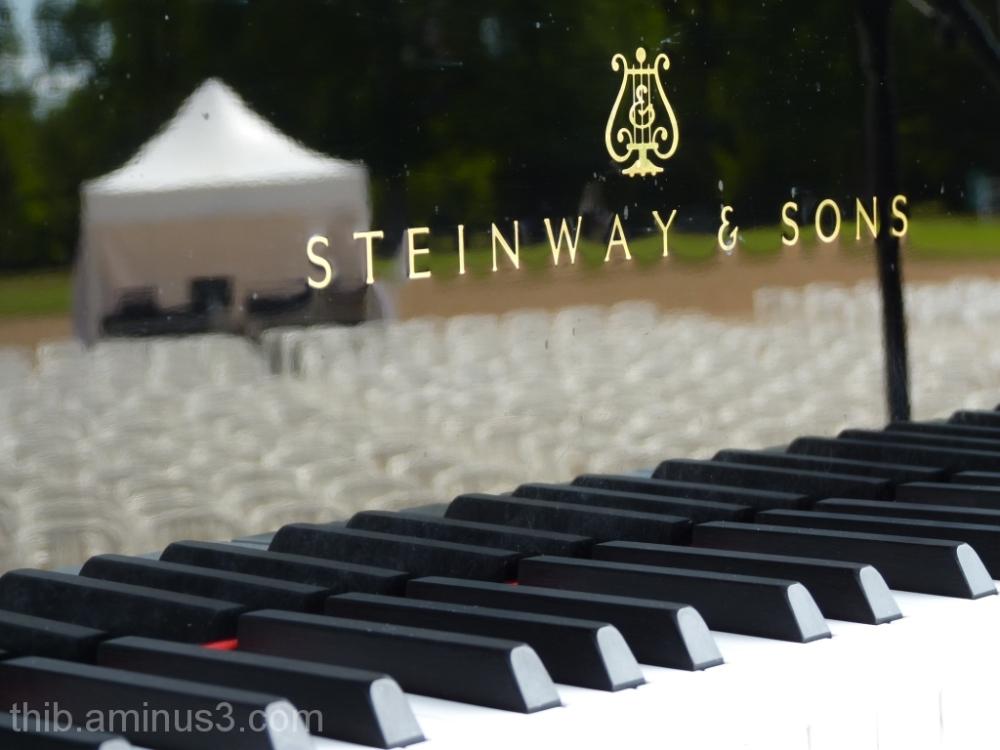 Jazzin'Cheverny reflexion in a Steinway