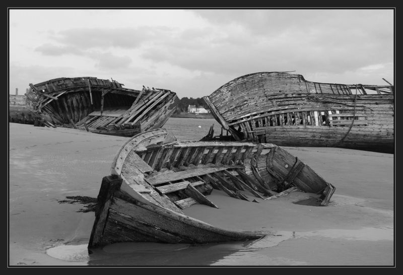 Cimetière de bateaux du Magouër