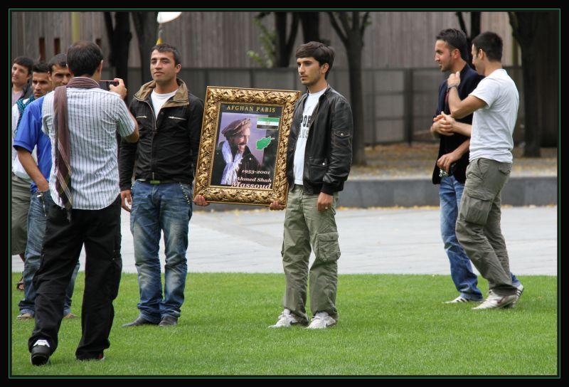 Jeunes  Afghans à Paris