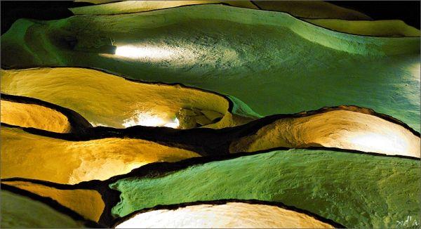 Bassins naturels grotte Saint-Marcel d'Ardèche