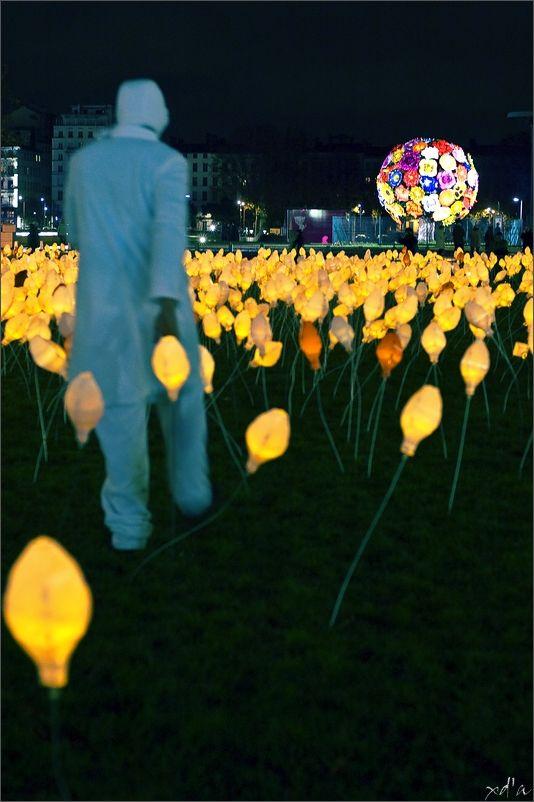 Fête des Lumière à Lyon