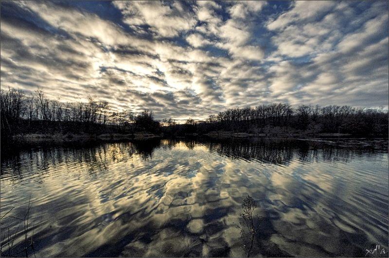 Reflets dans un lac