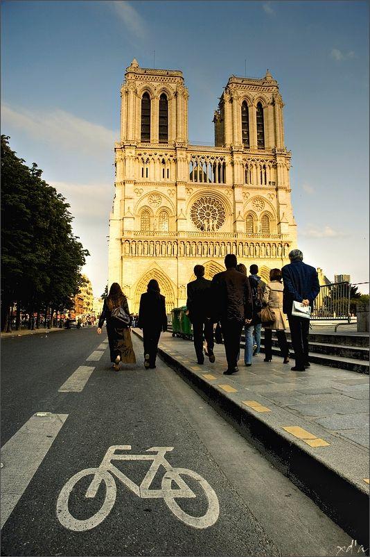 En route vers Notre-Dame
