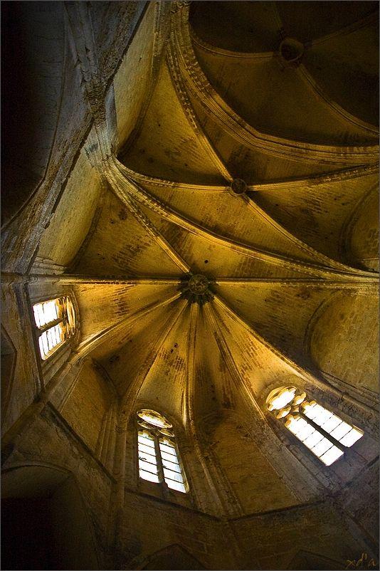 Le toit de l'abbaye