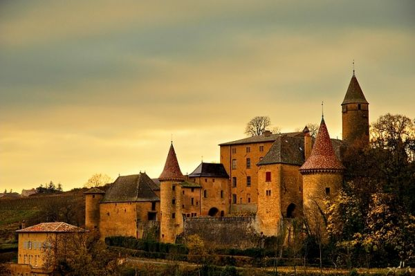 Le château de Jarnioux
