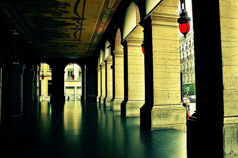 Les arcades de l'Opéra