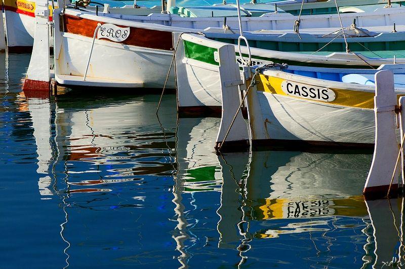 Dans le port de Cassis