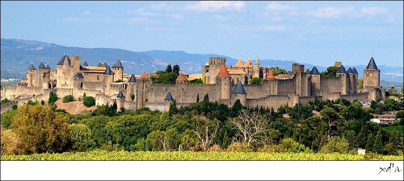 Carcassonne en panorama