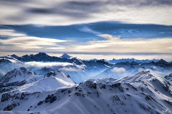 Panorama enneigé