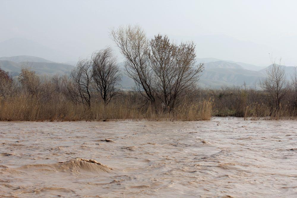 Qezel Ozan River zanjan Iran