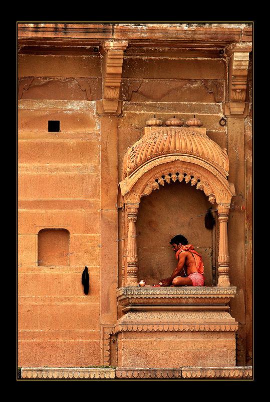 India Varanasi  prayers