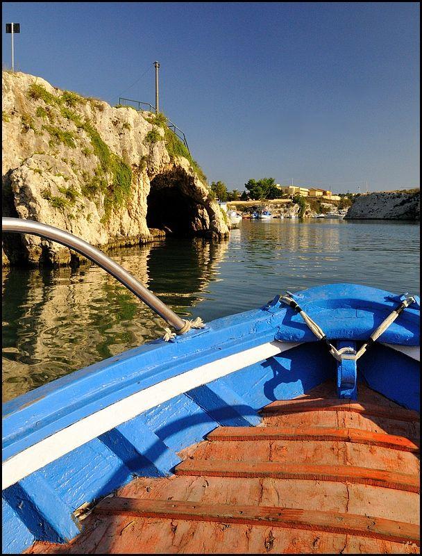 Un petit bateau pour les touristes