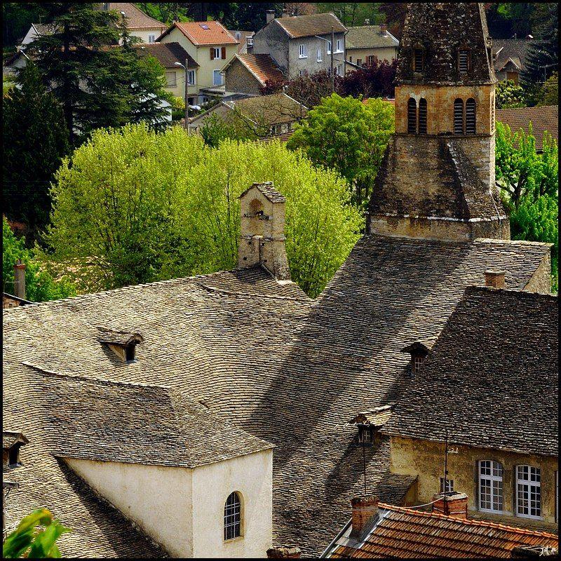 Le toit du couvent des Augustins