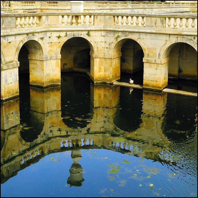 Bassin du Jardin de la Fontaine