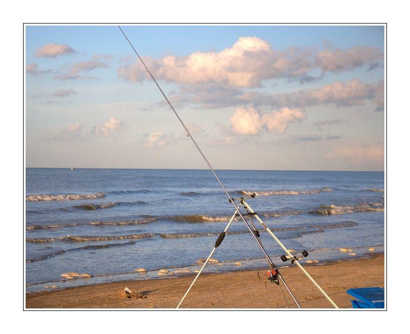 Pêche sur la plage