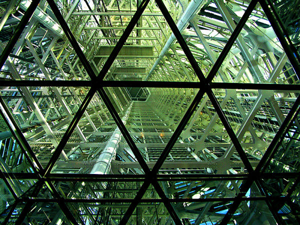 Inside of Fukuoka tower