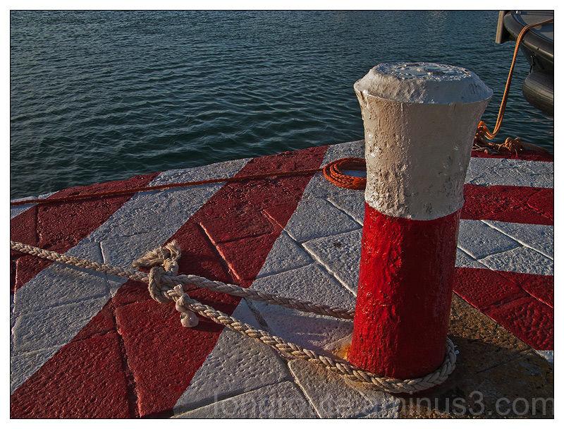 Cagliari, the harbour