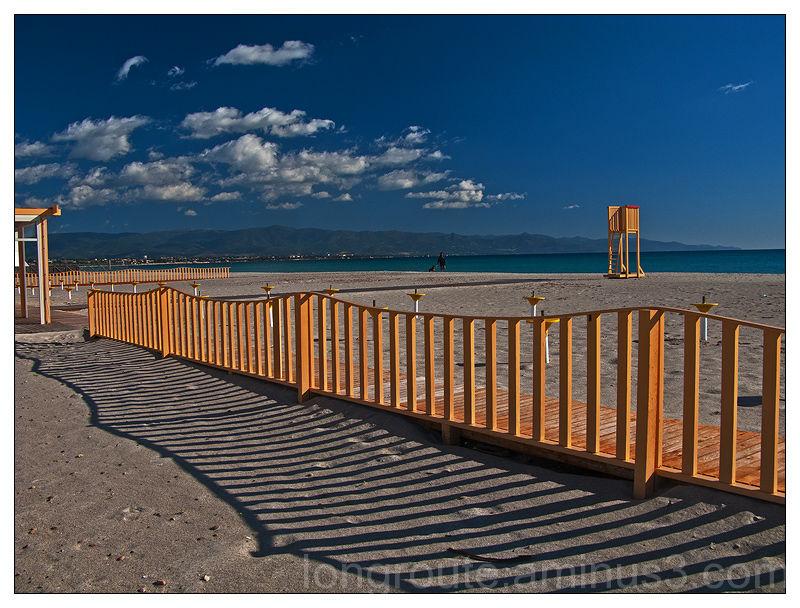 Beach of Poetto, Cagliari, Sardinia