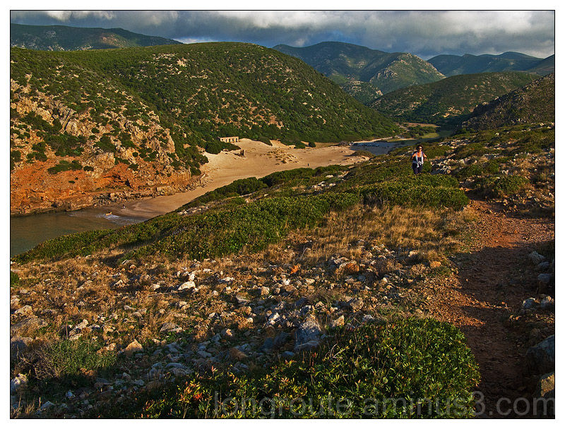 Cala Domestica, Bugerru, Sardinia