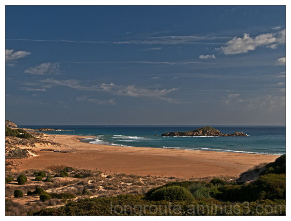 Beach of Chia, Domusdemaria, Cagliari, Sardinia,