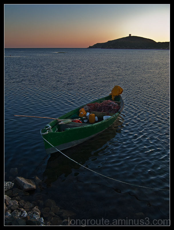 Bay of Malfatano, Sardinia, Italy