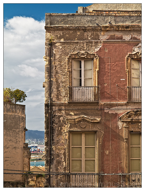 The old quarter of Castello in cagliari, Sardinia