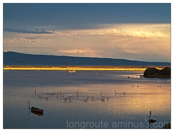 Marceddì lagoon, Near Oristano, Sardinia