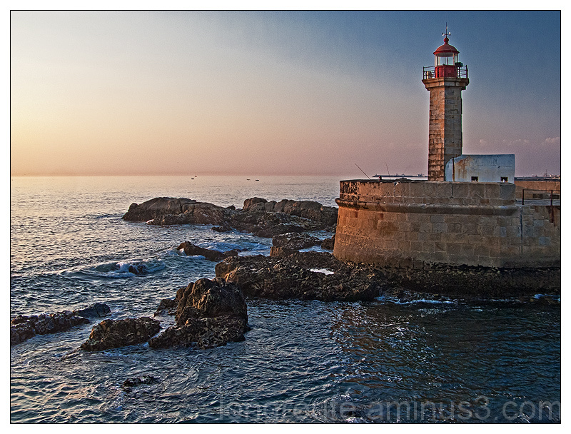 Felgueiras lighthouse, Foz do Douro, Porto,