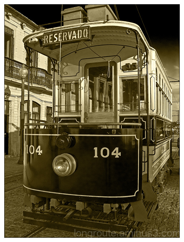 Tram, Foz do douro, Porto, Portugal