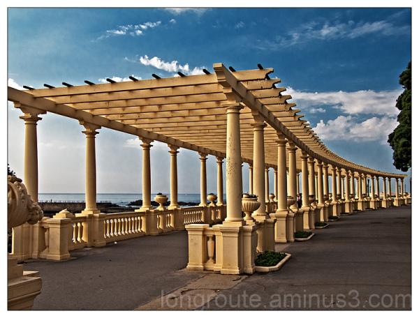 Colonnade, Foz do Douro, Porto, Portugal