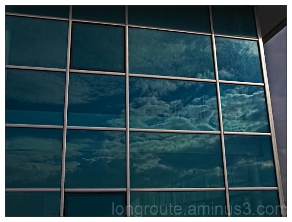 reflections in Cagliari